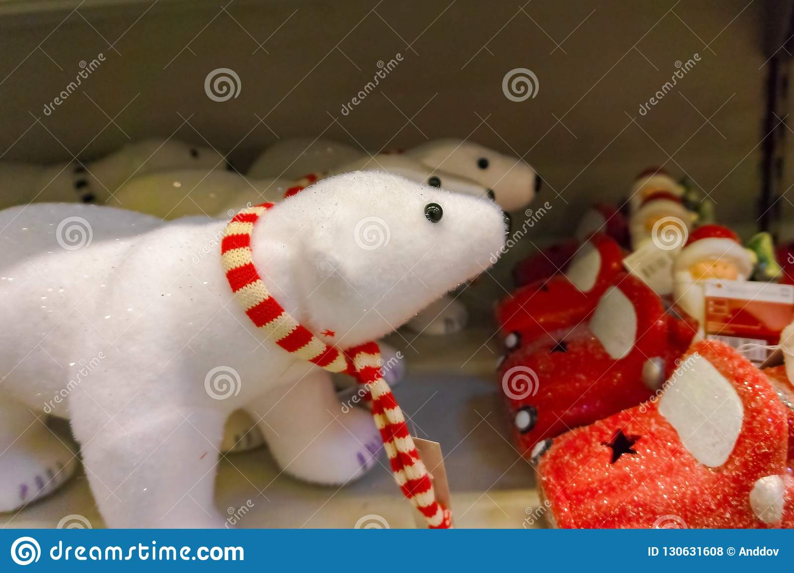 圣诞节玩具北极熊新年