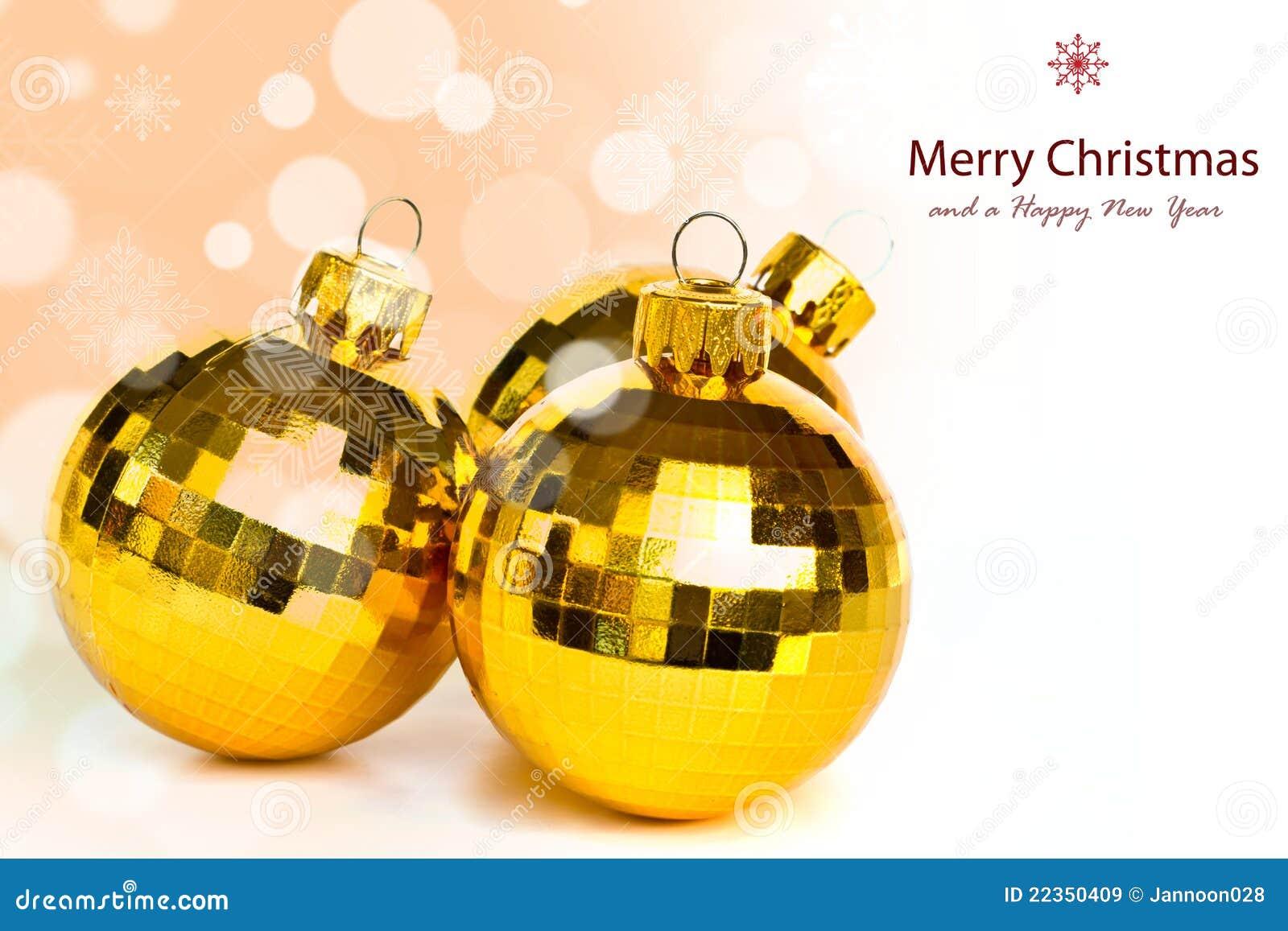 圣诞节球。