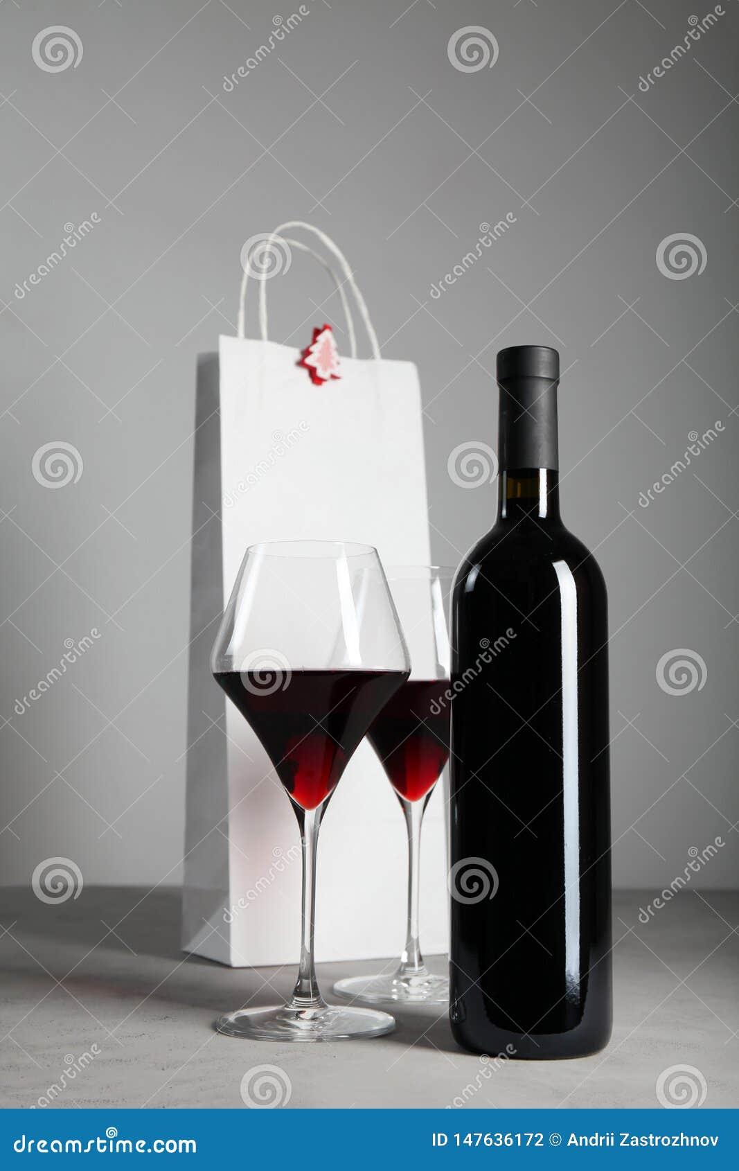 圣诞节的,欢乐大气红酒