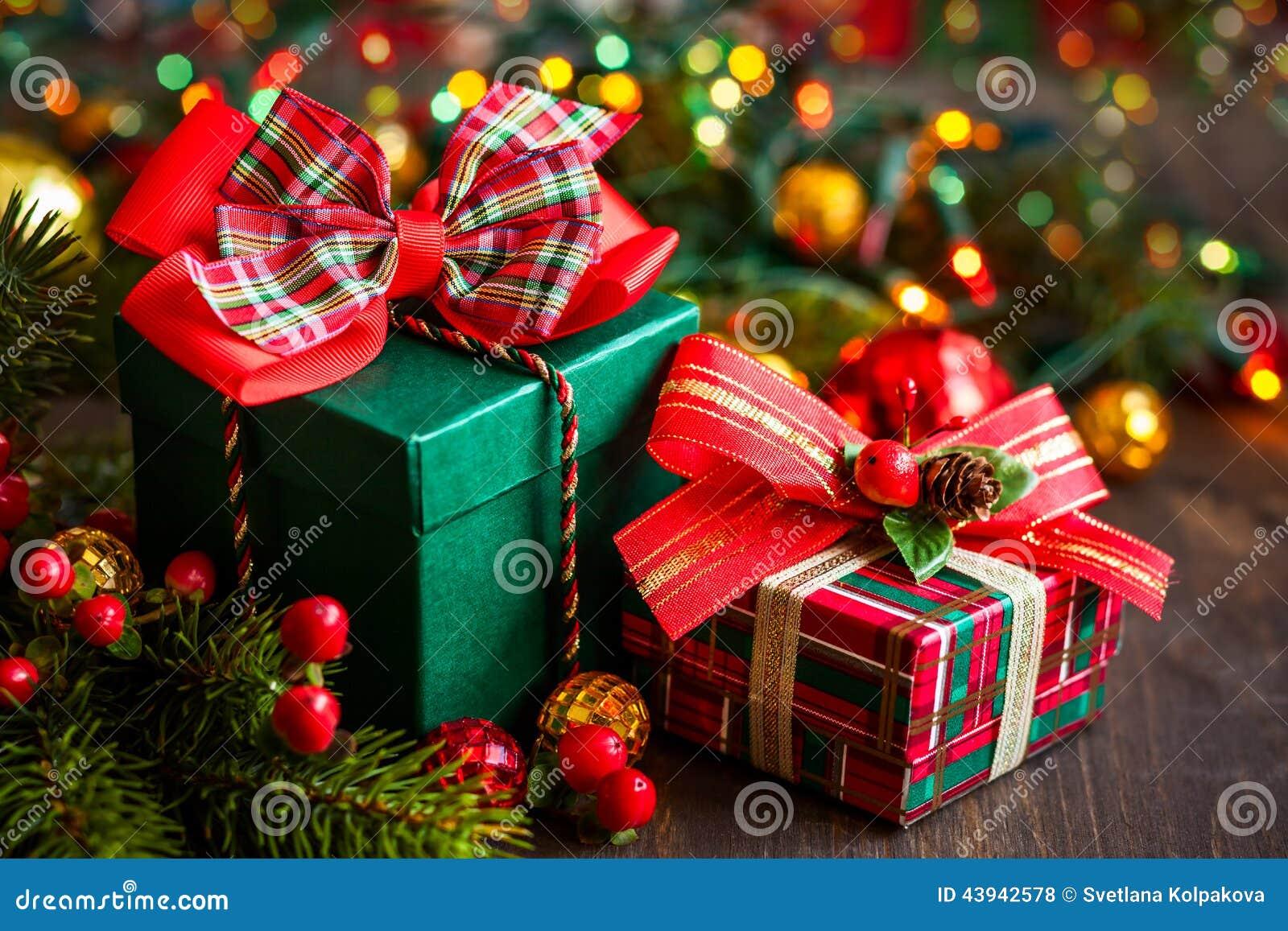 圣诞节礼物盒