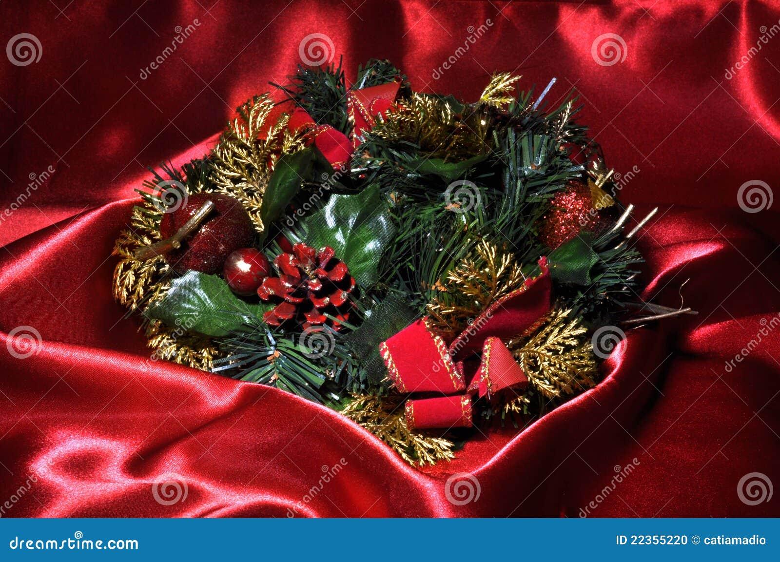圣诞节红色时间