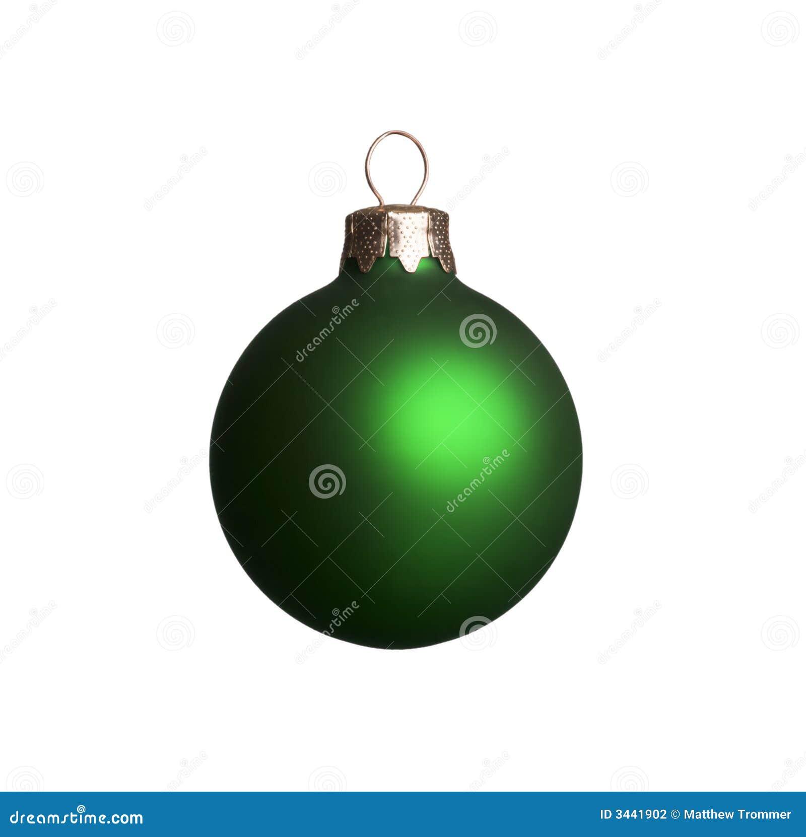 圣诞节绿色装饰品