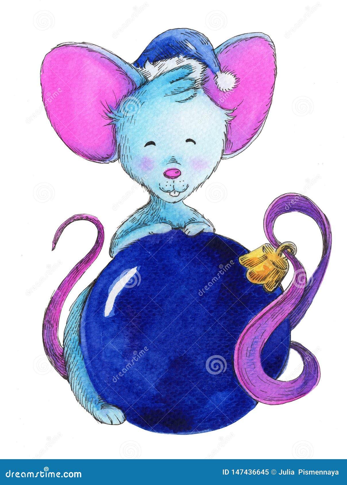圣诞节老鼠,年的标志