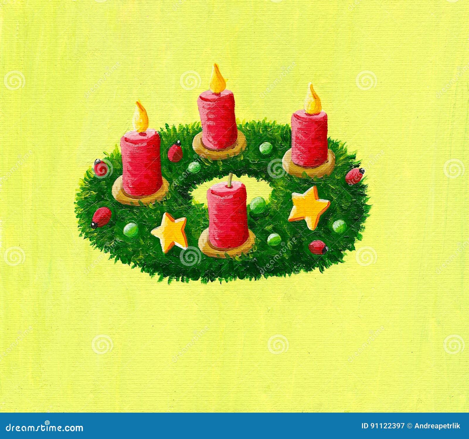 圣诞节花圈