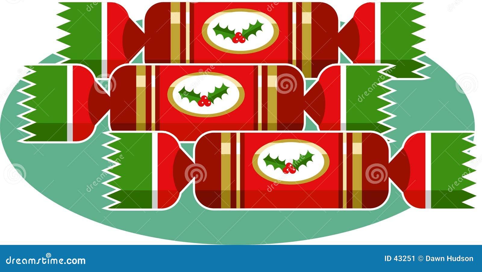 圣诞节薄脆饼干