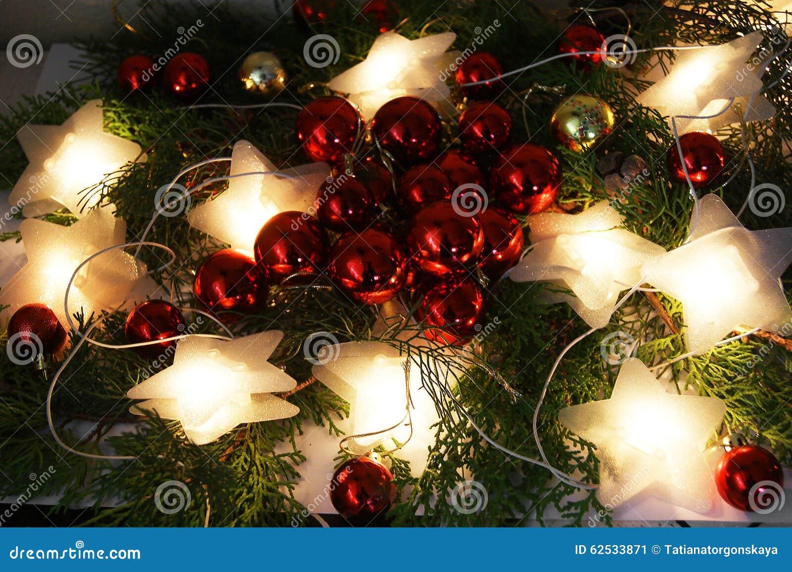 圣诞节装饰生态学木