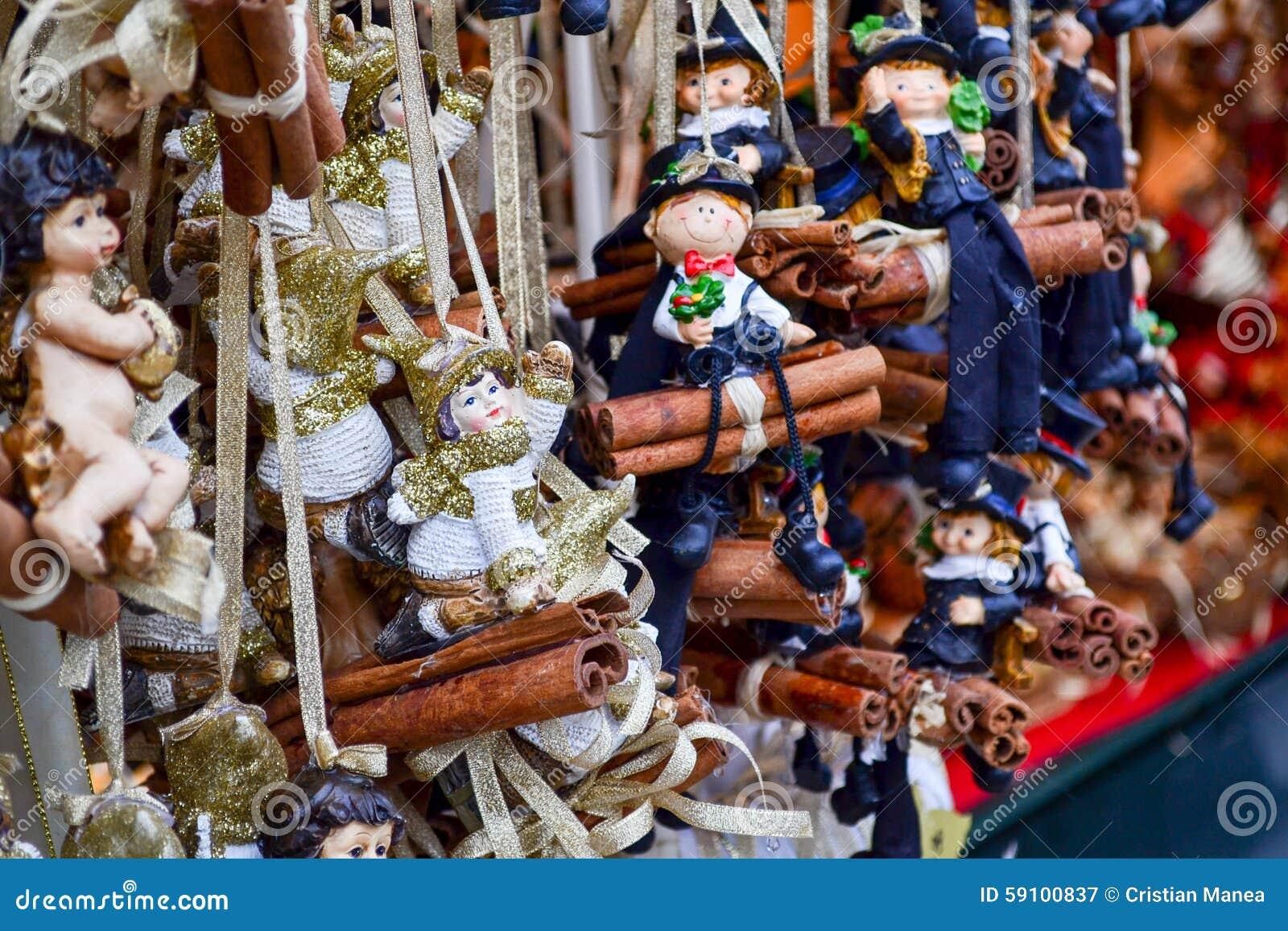 圣诞节装饰-小玩具木偶