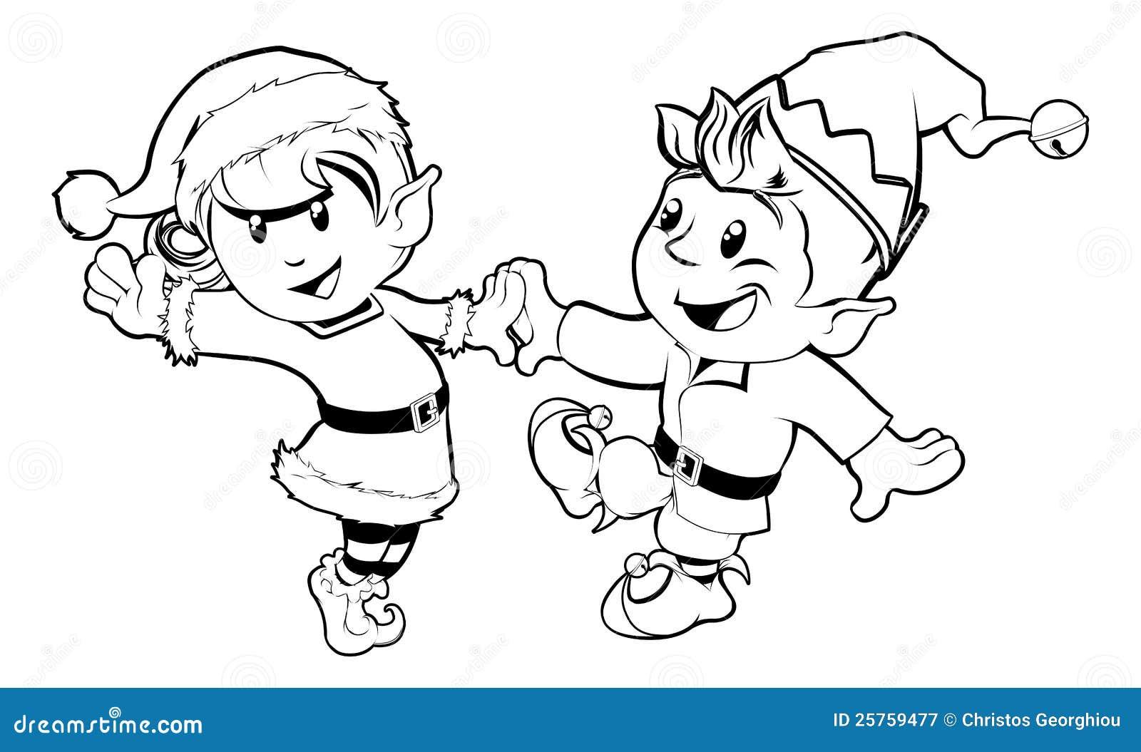 圣诞节跳舞矮子