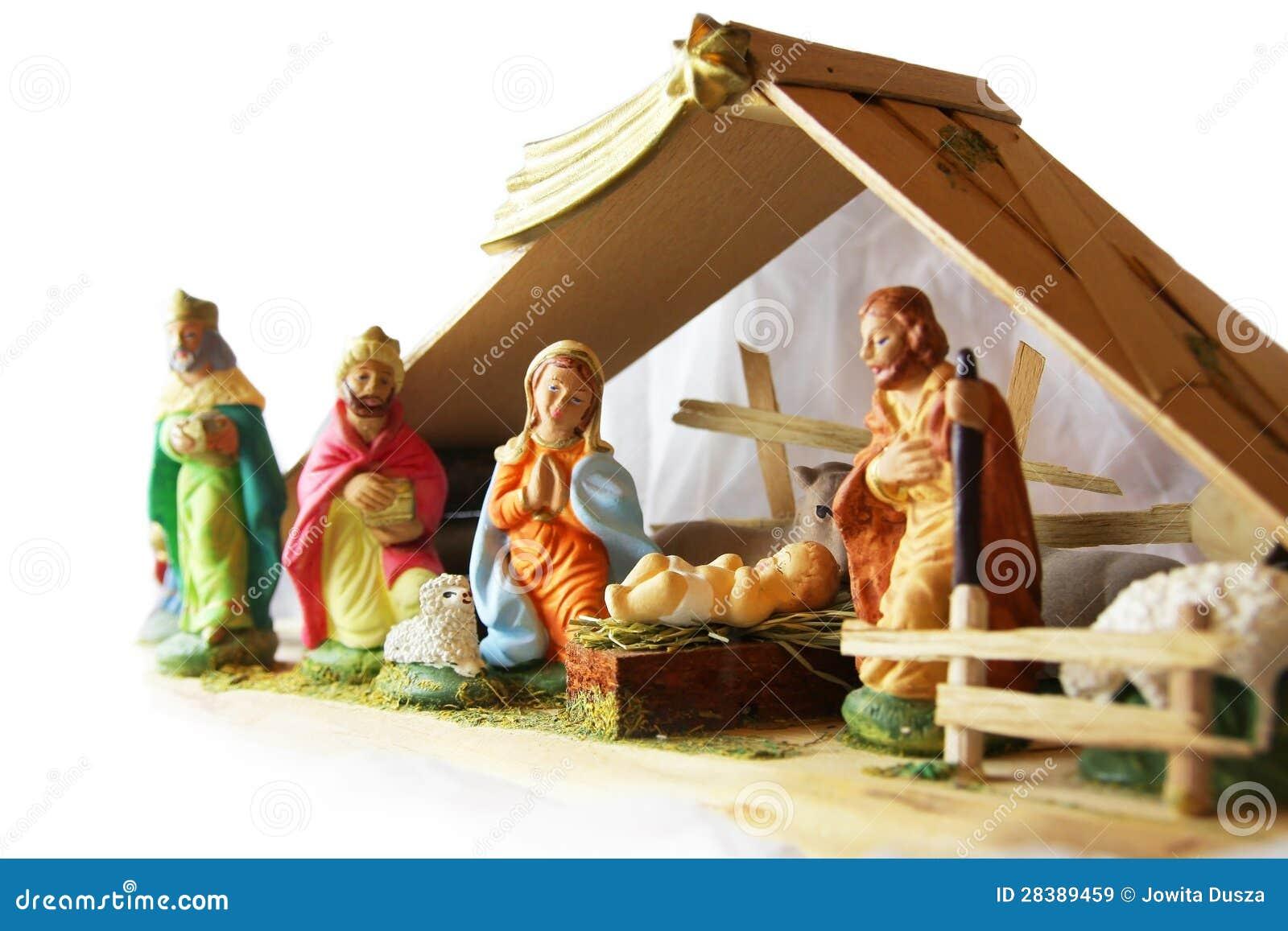 圣诞节-诞生场面。