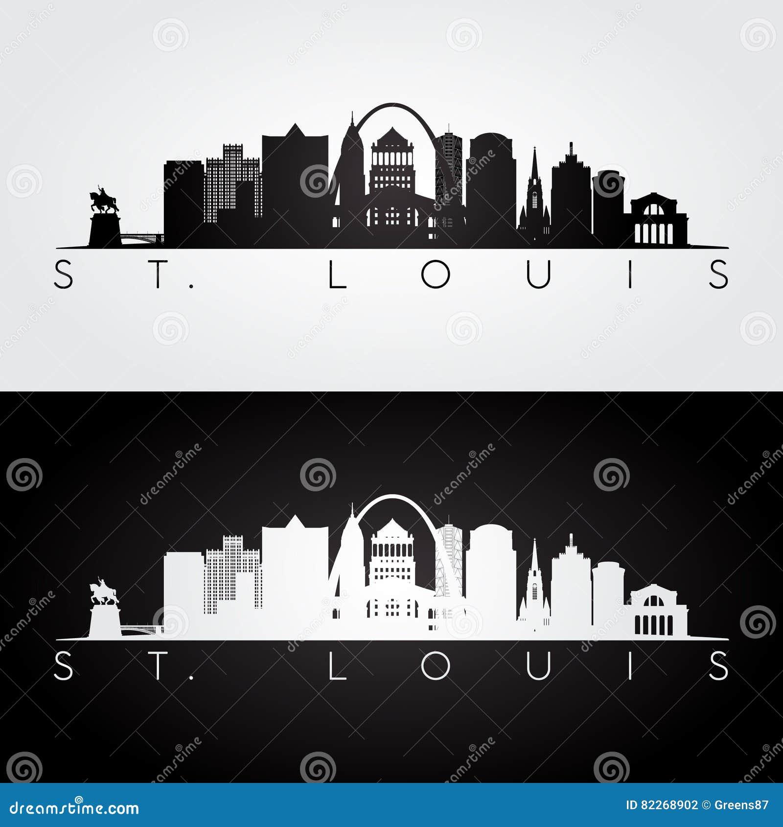 圣路易斯地平线剪影