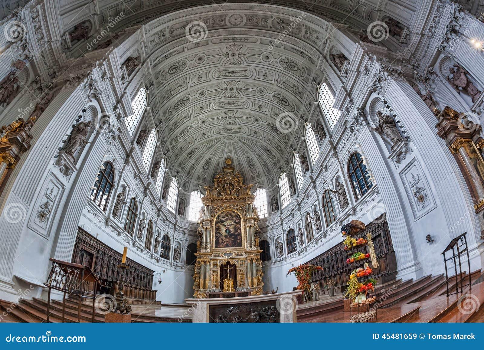 圣迈克尔教会在慕尼黑,拜仁,德国