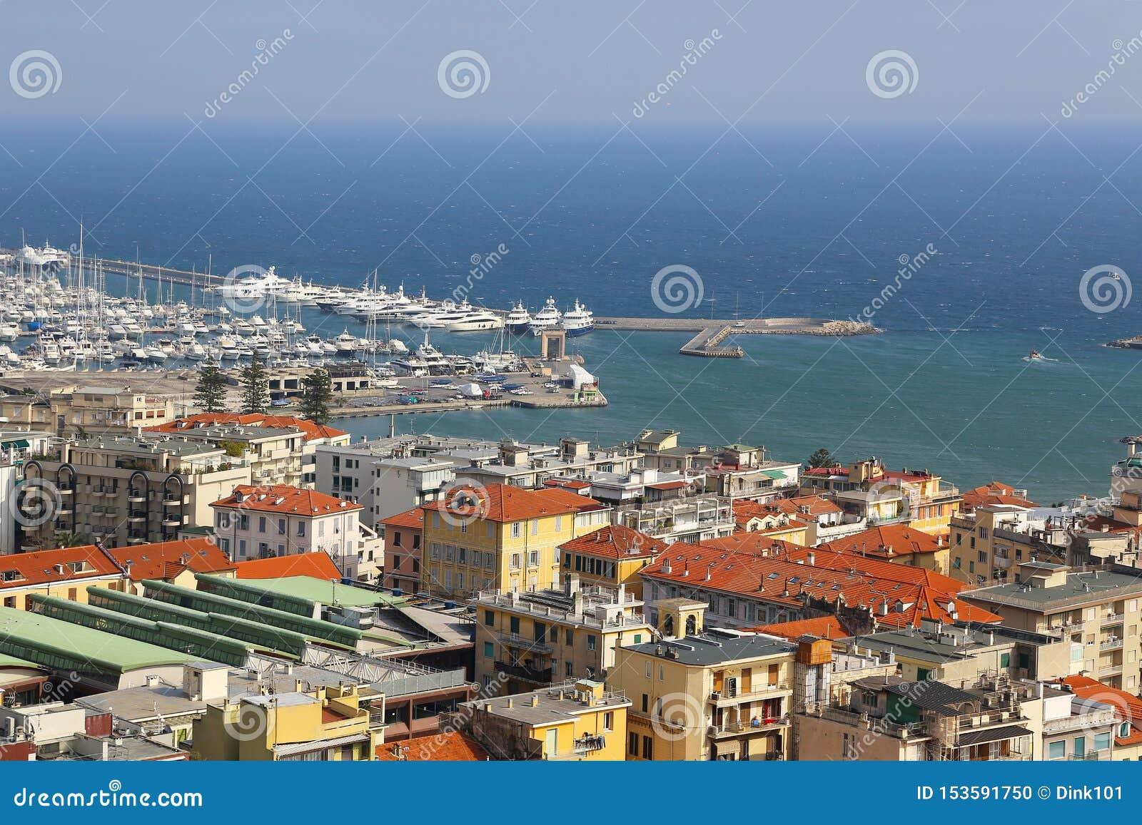 圣雷莫圣雷莫港意属里维耶拉的,统治权,利古里亚,意大利
