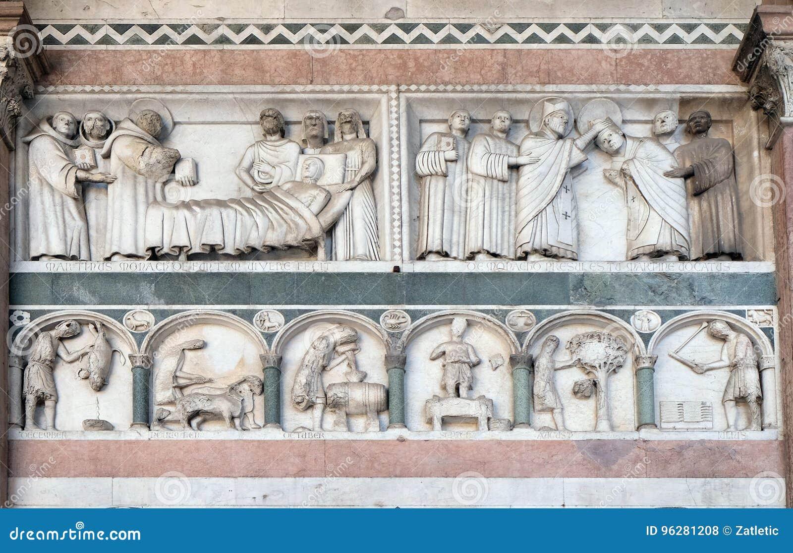 圣马丁和年的月的劳方故事