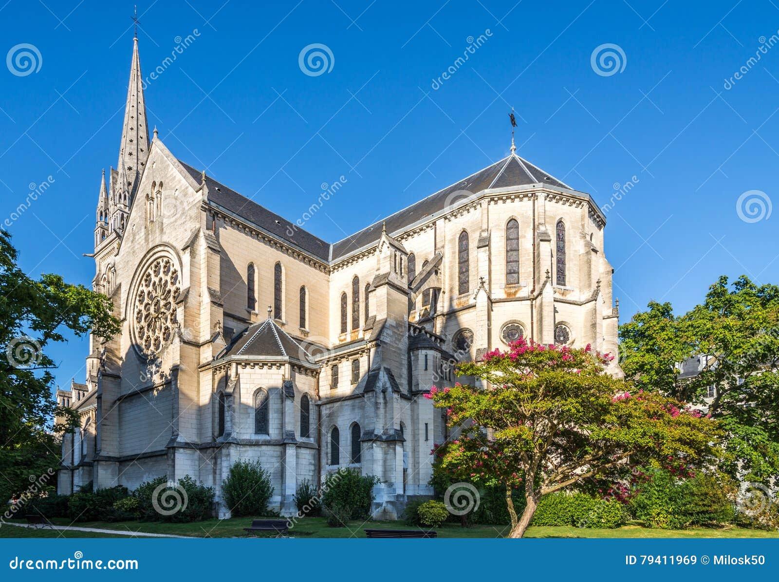 圣马丁教会在波城-法国