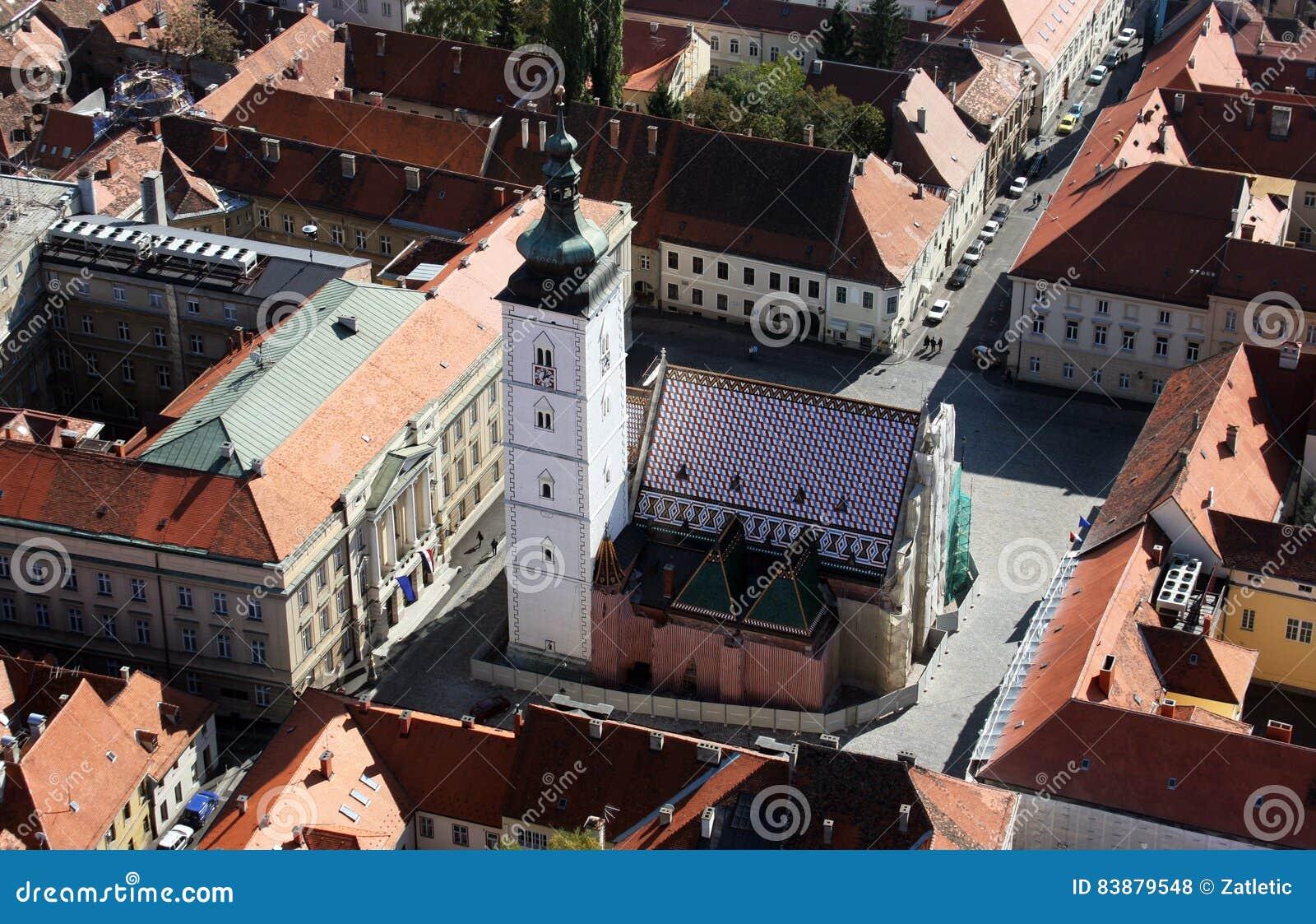 圣马克` s教会在萨格勒布