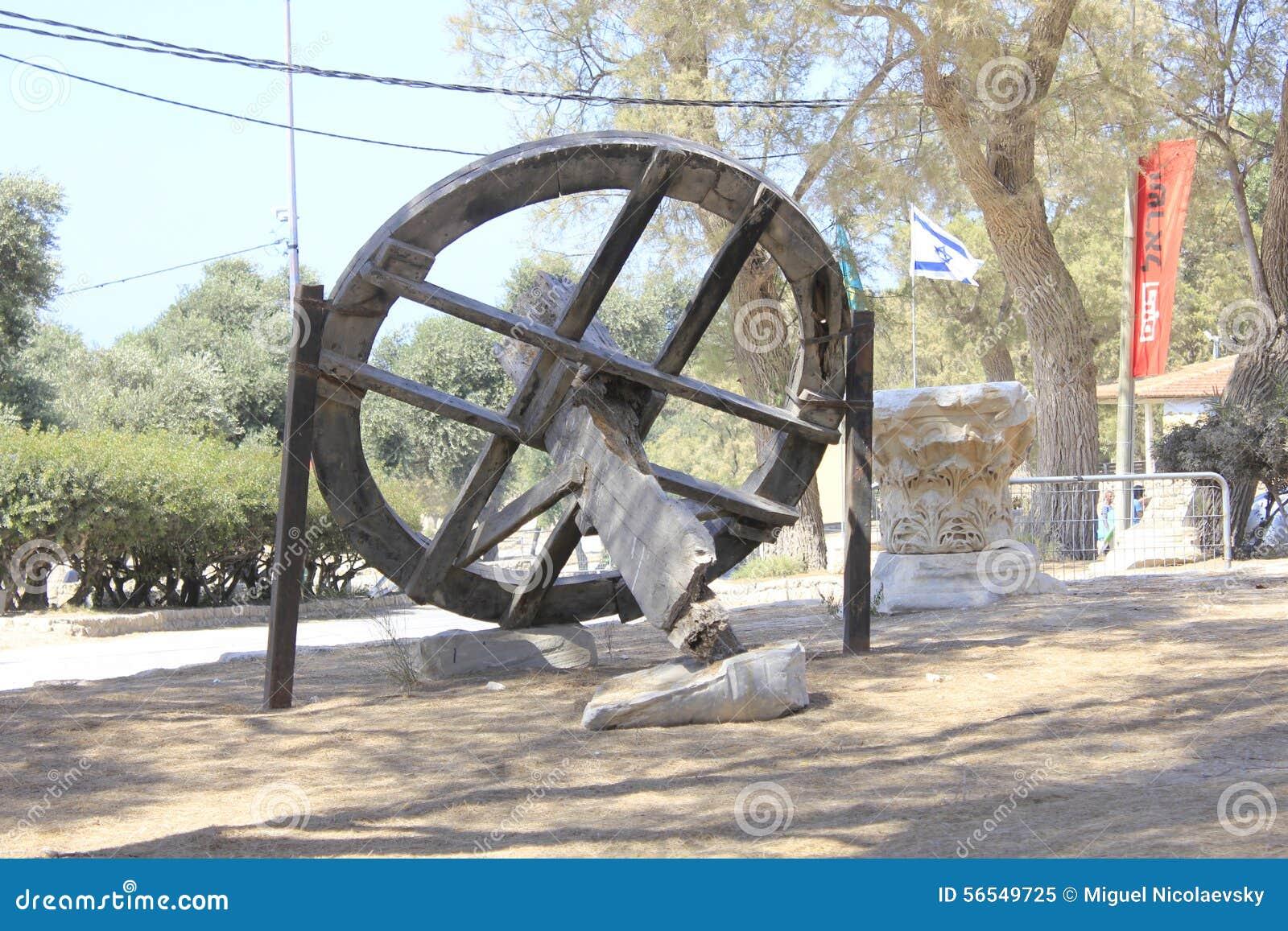 圣经的亚实基伦古城在以色列