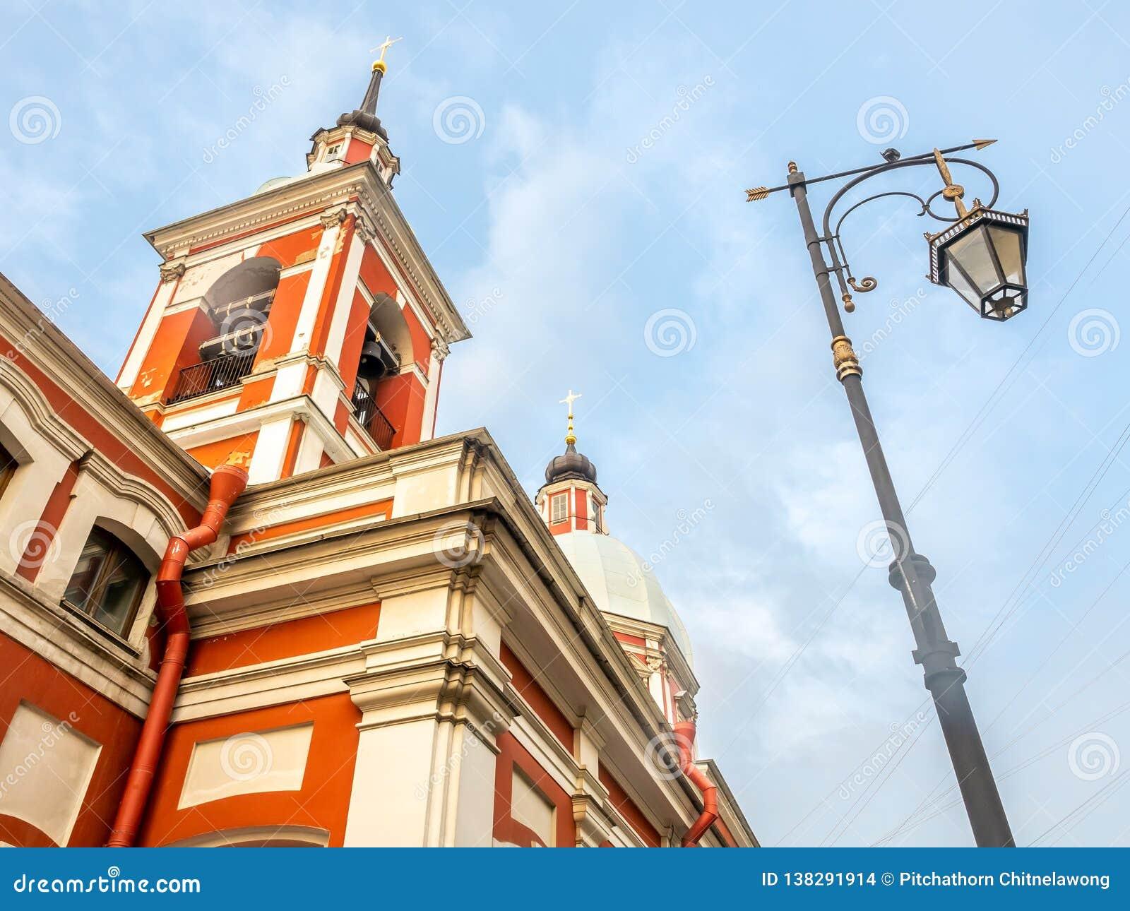圣Panteleimon教会愈疗者,圣彼德堡,俄罗斯