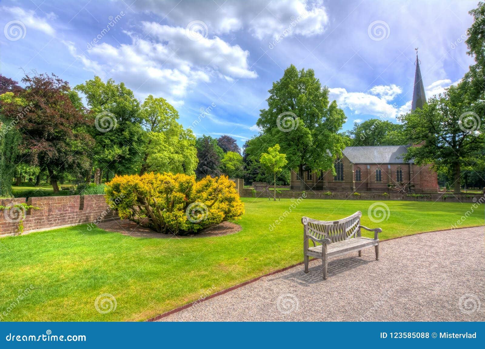 在乌得勒支,荷兰附近的德哈尔城堡