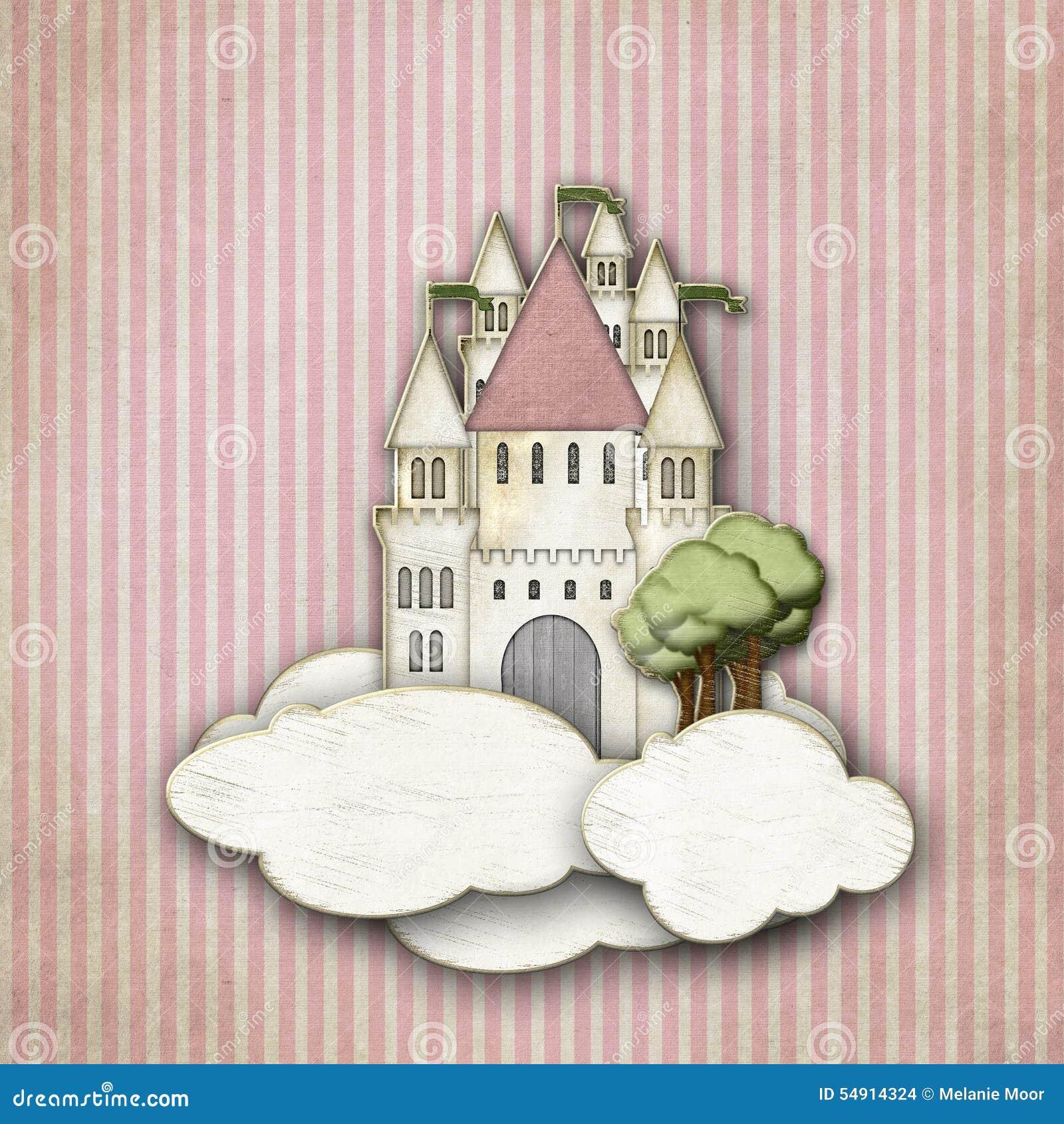 在云彩的童话城堡
