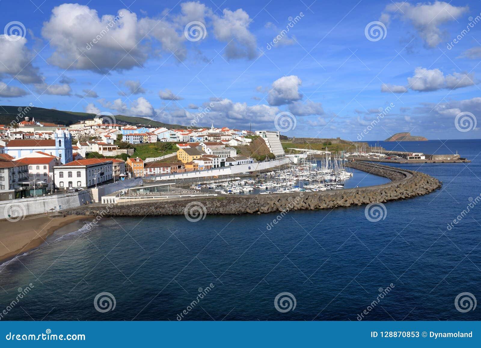 在亚速尔群岛葡萄牙的美丽的Isla Terceira