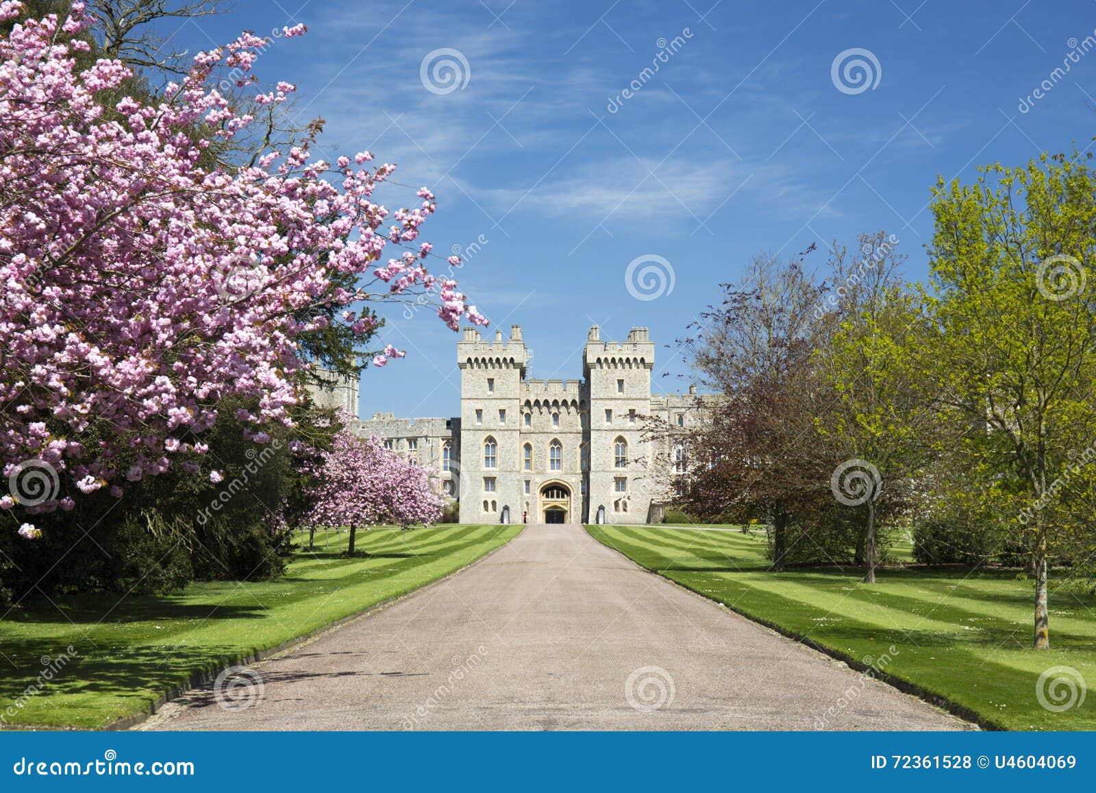 在伦敦,英国附近的温莎城堡