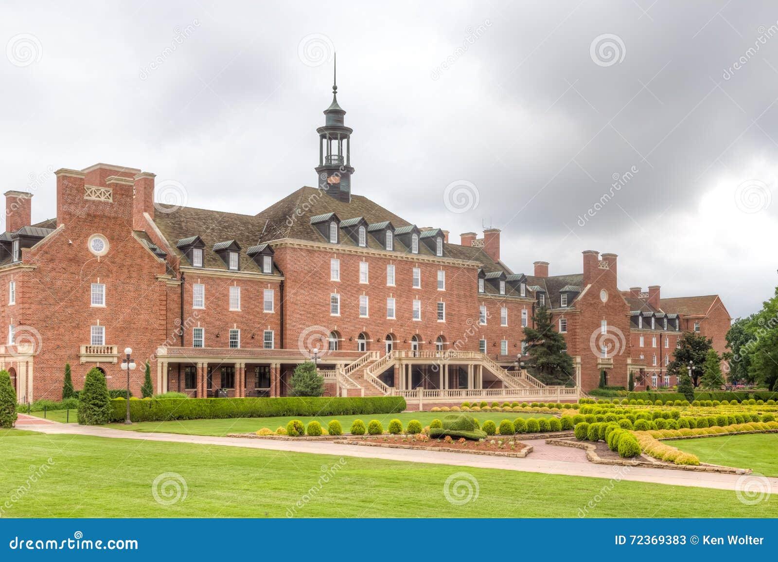 在俄克拉何马州立大学的大学生联盟大厦