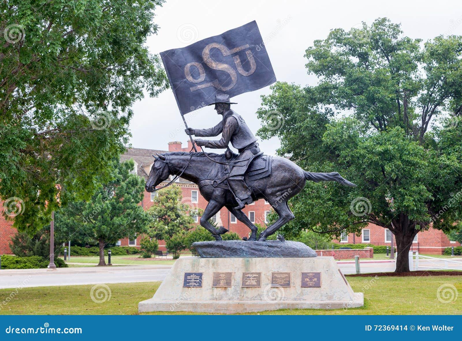 在俄克拉何马州立大学的OSU Spirt车手
