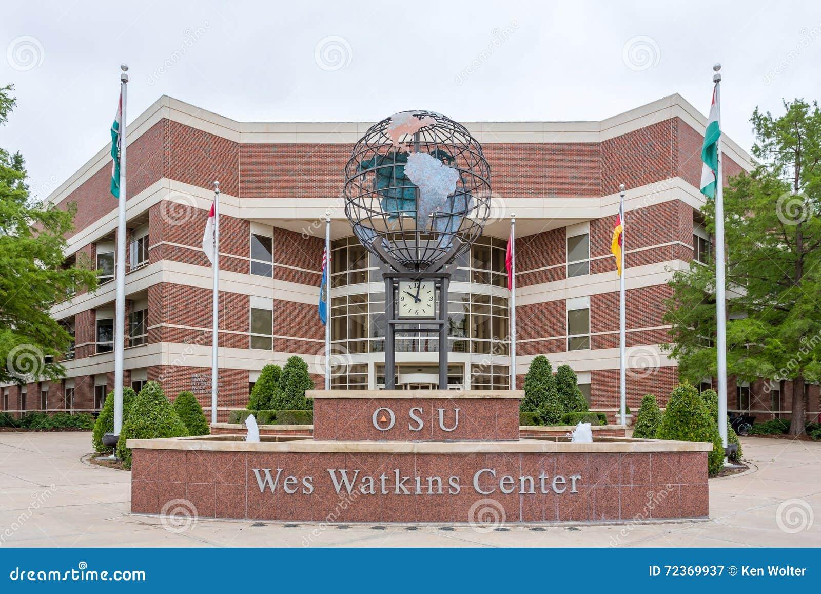 在俄克拉何马州立大学的Wes沃特金斯中心