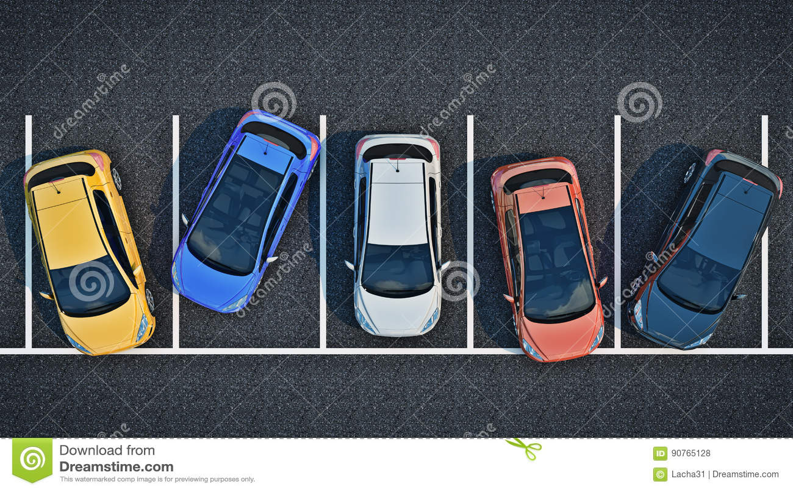 在停车处的坏司机