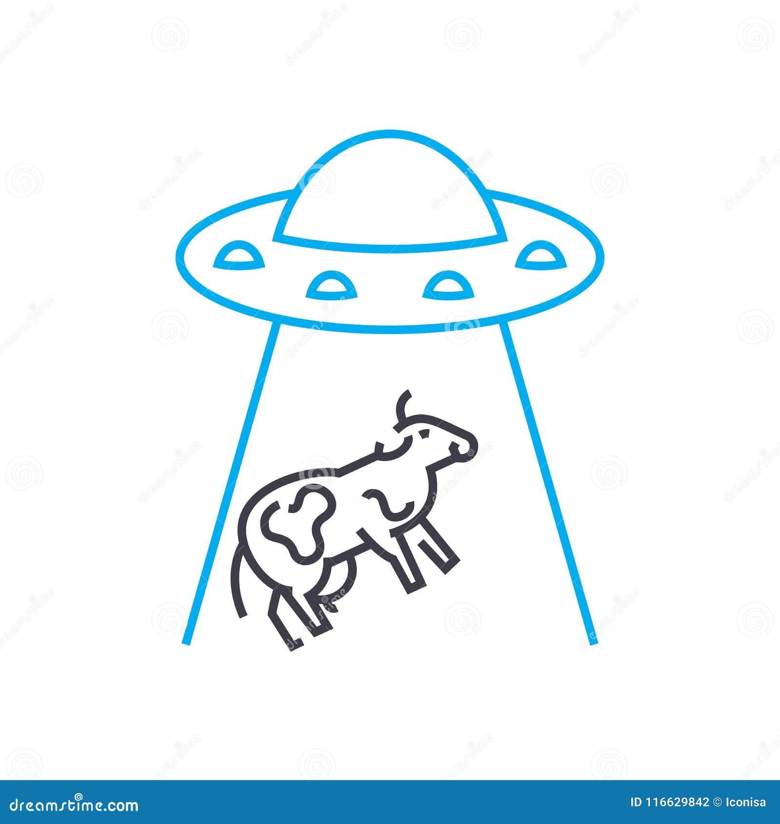 在动物的实验导航稀薄的线冲程象 在动物的实验概述例证,线性标志,标志