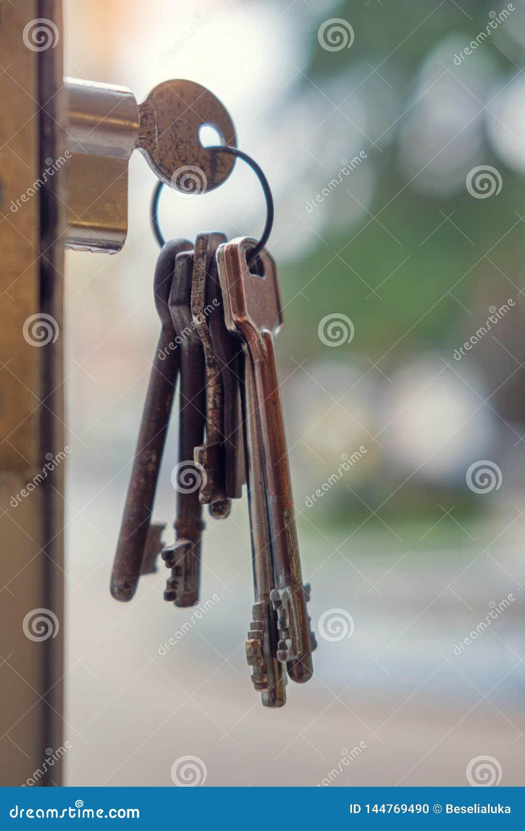 在匙孔的钥匙