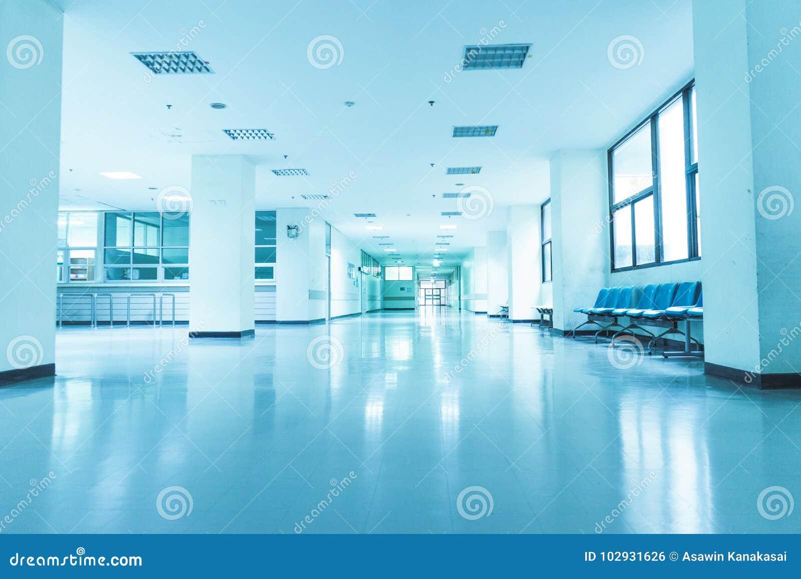 在医院里面