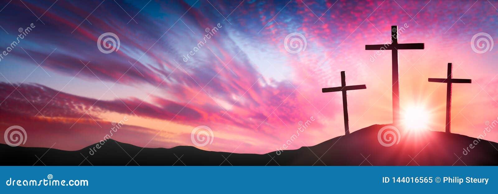 在十字架上钉死和复活