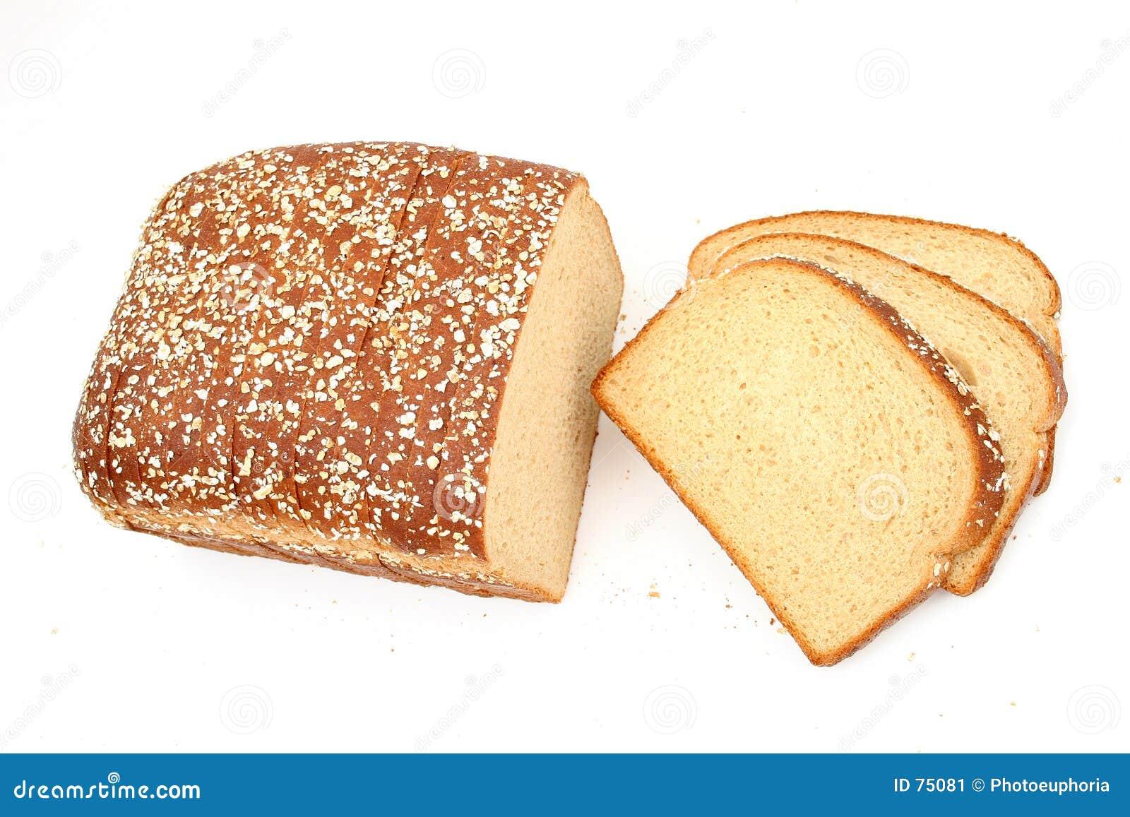 在可口蜂蜜麦子上添面包