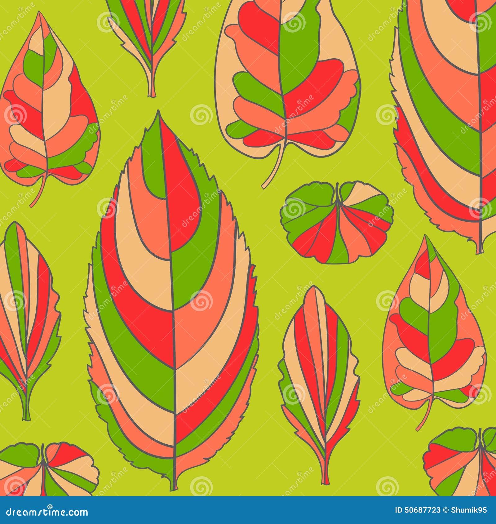 Download 在叶子题材的色的样式 秋天样式 向量例证. 插画 包括有 织品, 本质, 概念, 想法, 自然, 花卉, beauvoir - 50687723