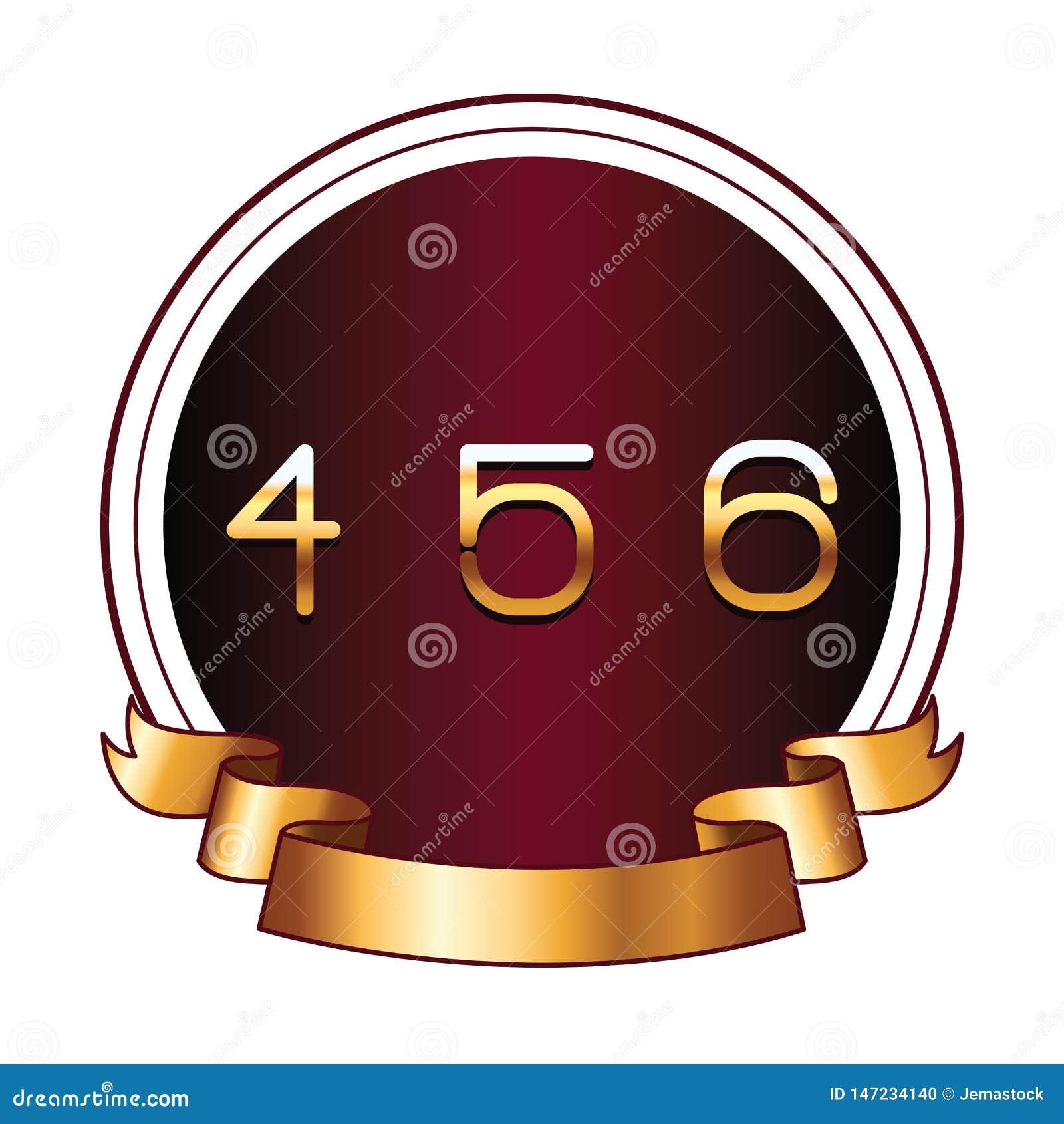 在圆的标签的四五个和六个数字