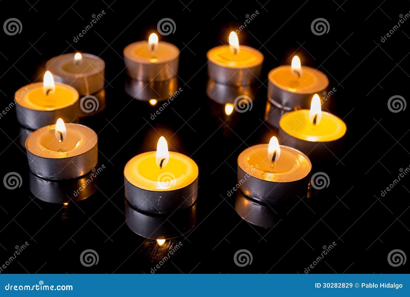 在圈子的小蜡烛
