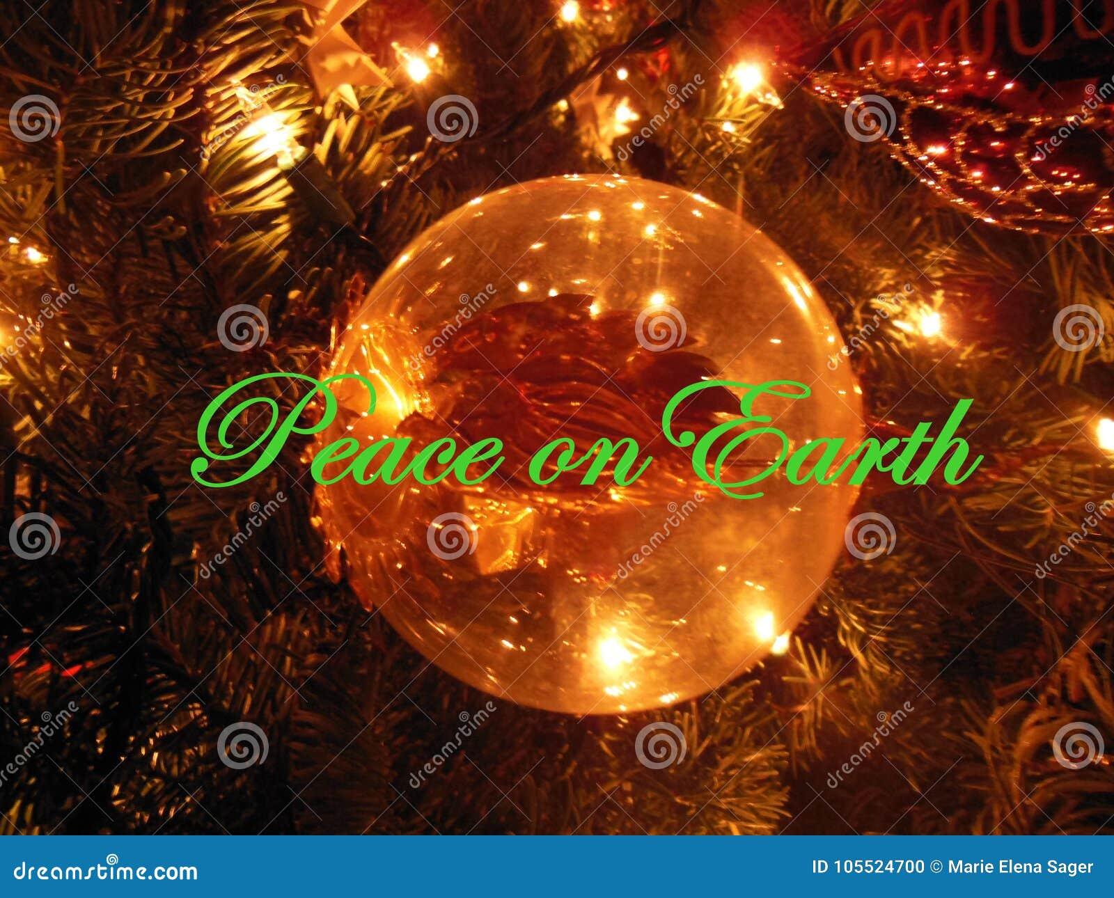 在地球上的和平