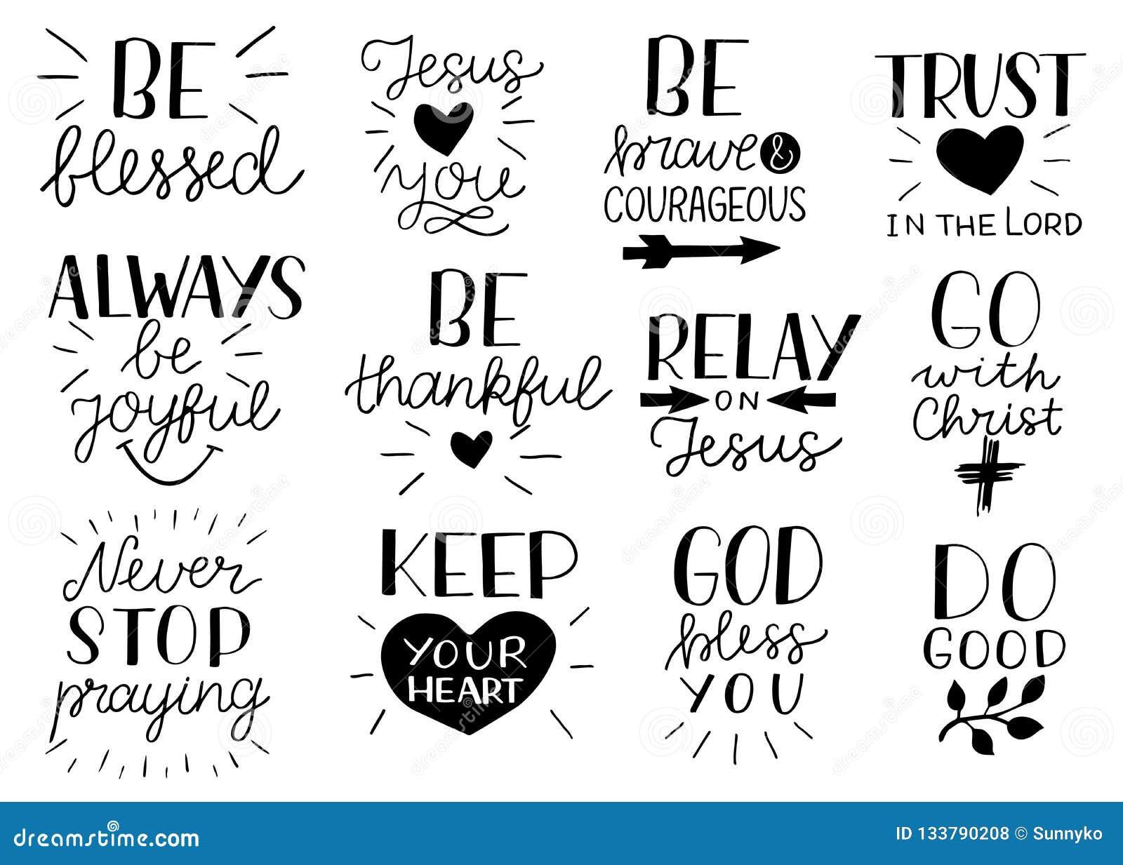 在基督徒行情上写字的设置12手是强和勇敢的 耶稣爱您 去与基督做好 不要停止