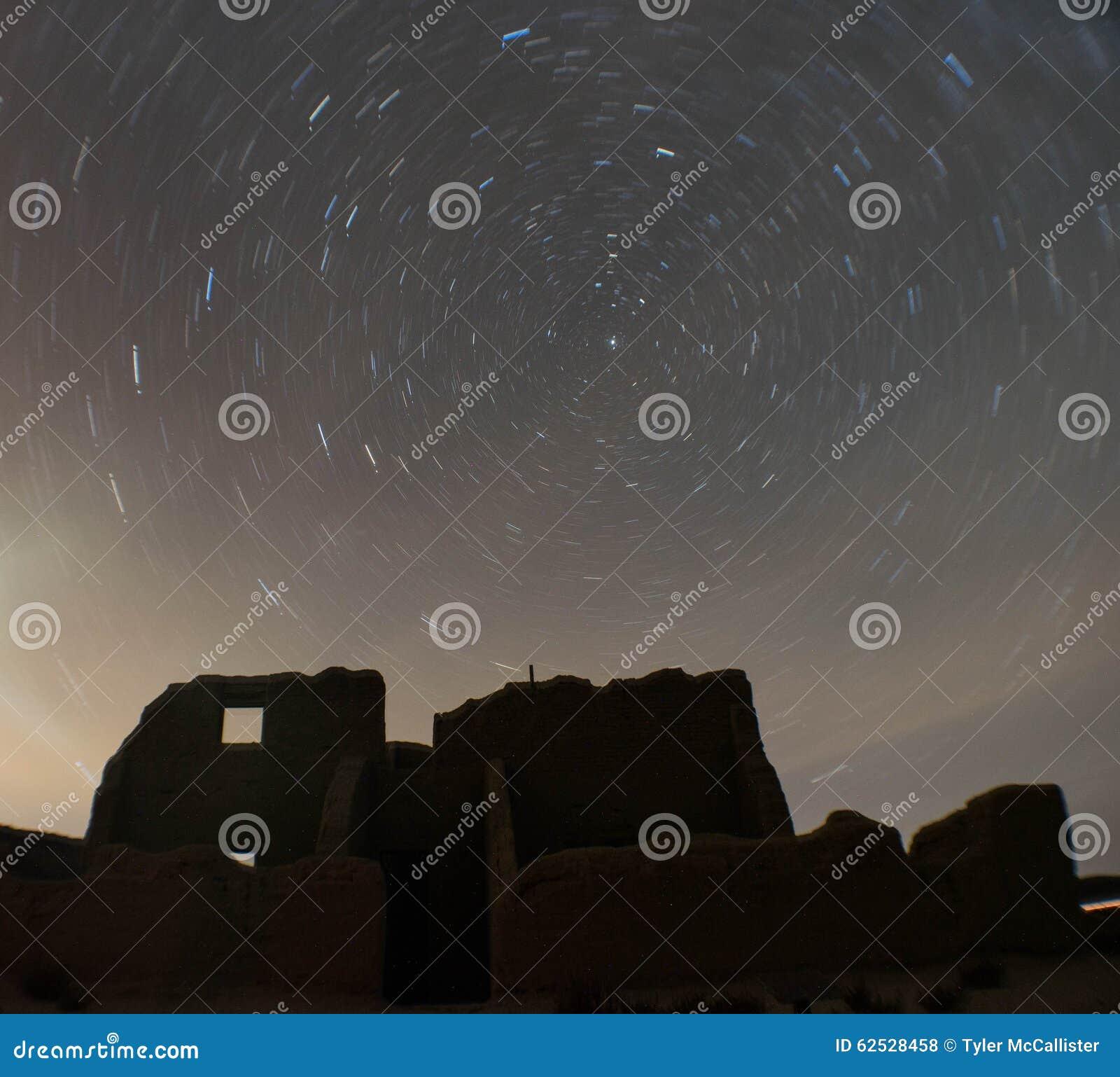 在堡垒丘吉尔,内华达的星足迹