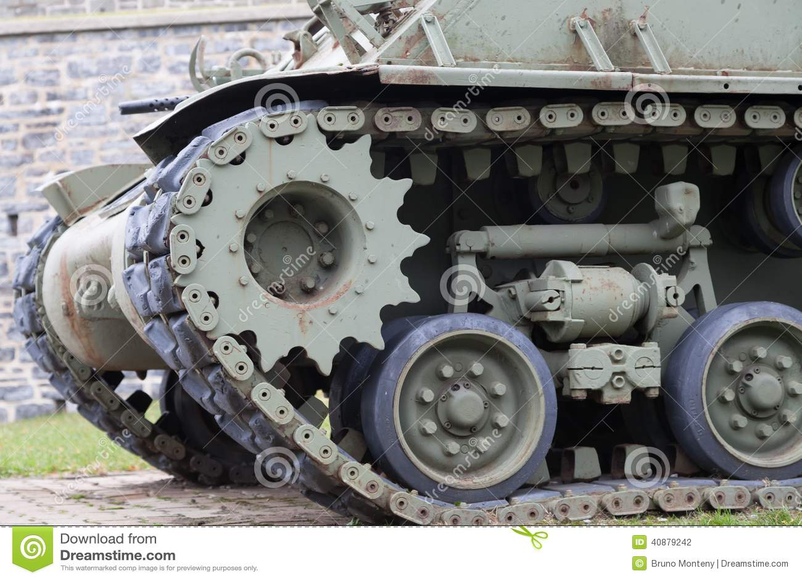 在堡垒的军事坦克,魁北克的Citadelle,