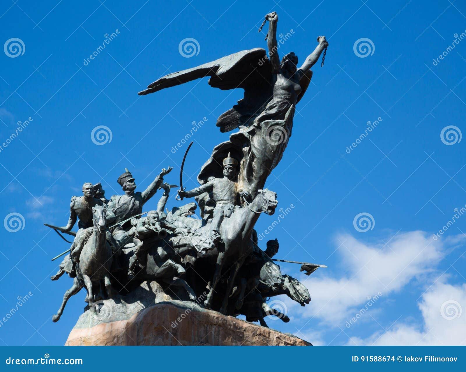 在塞罗de la格洛里亚, Mendoza的纪念碑