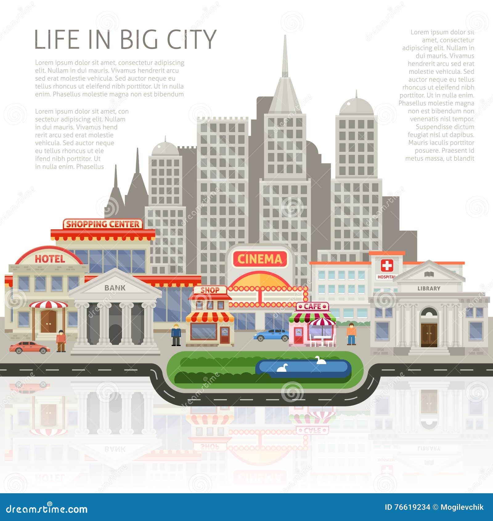 在大城市设计的生活