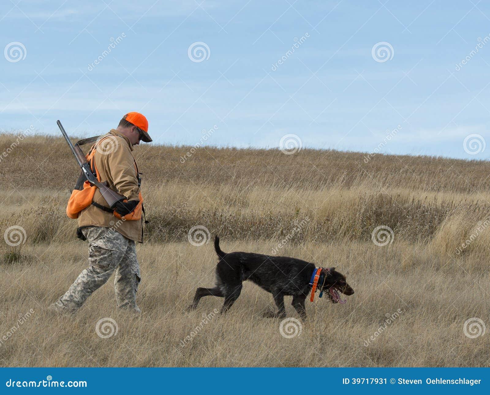 在大草原的猎人