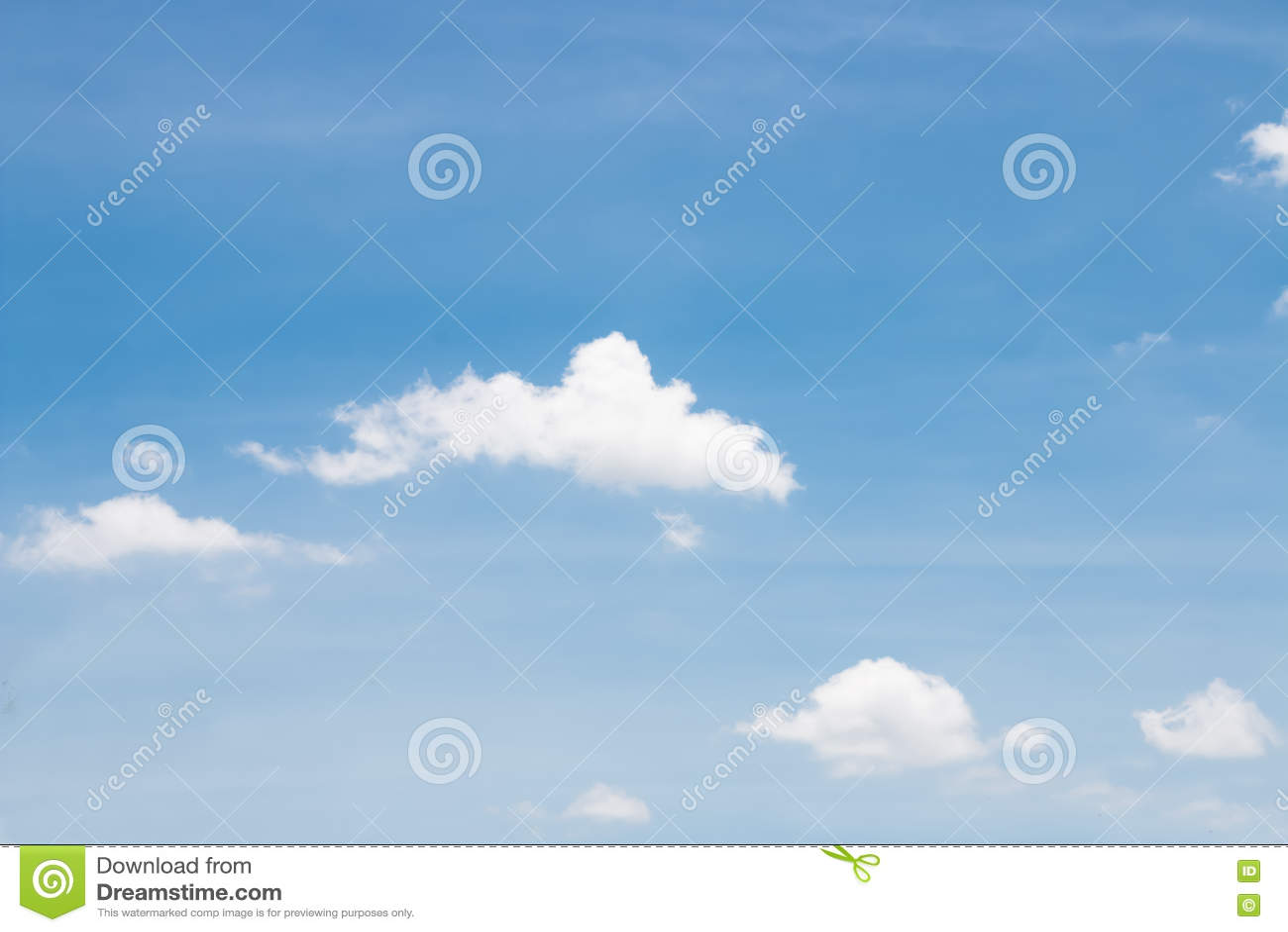在天空的云彩