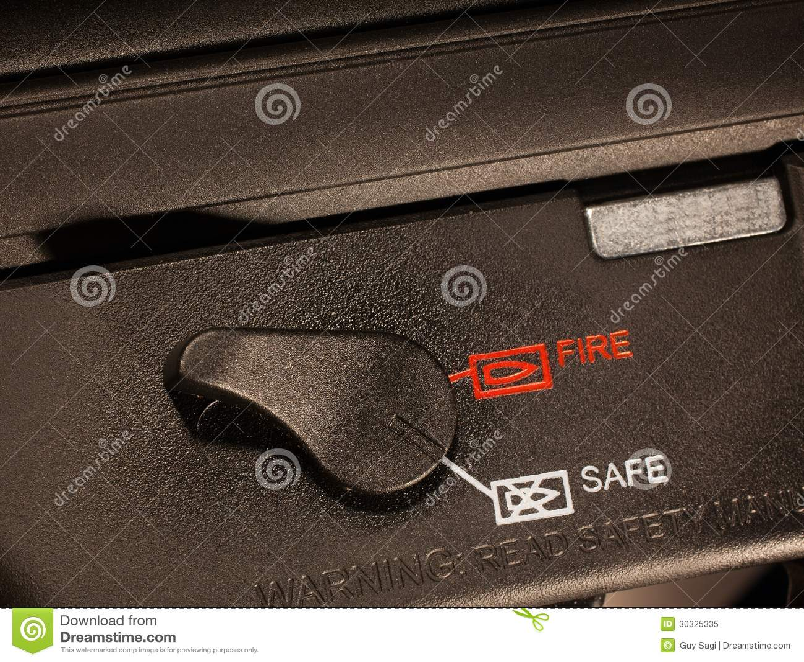 攻击步枪安全