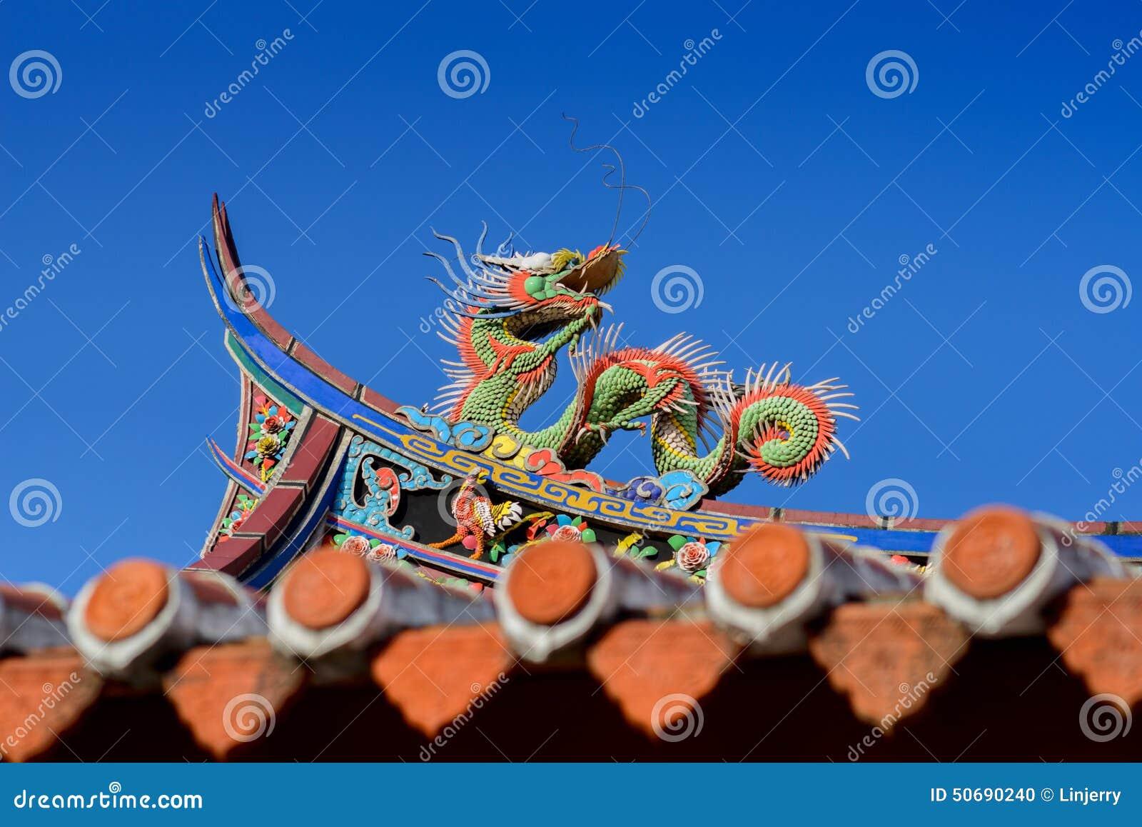 Download 在寺庙屋顶的龙 库存照片. 图片 包括有 拱道, 红色, 聚会所, 装饰品, 蓝色, 屋顶, 敌意, 天空 - 50690240
