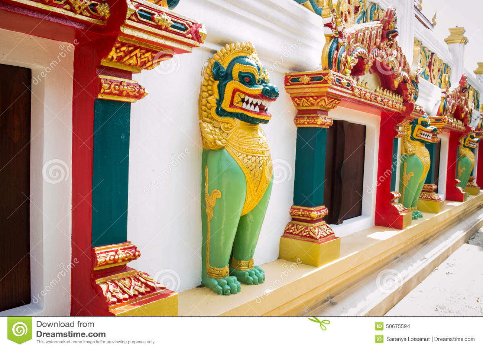 Download 在寺庙,泰国的Singha雕象 库存照片. 图片 包括有 监护人, 水泥, 由于, 影响, 的btu, 蓝色 - 50675594