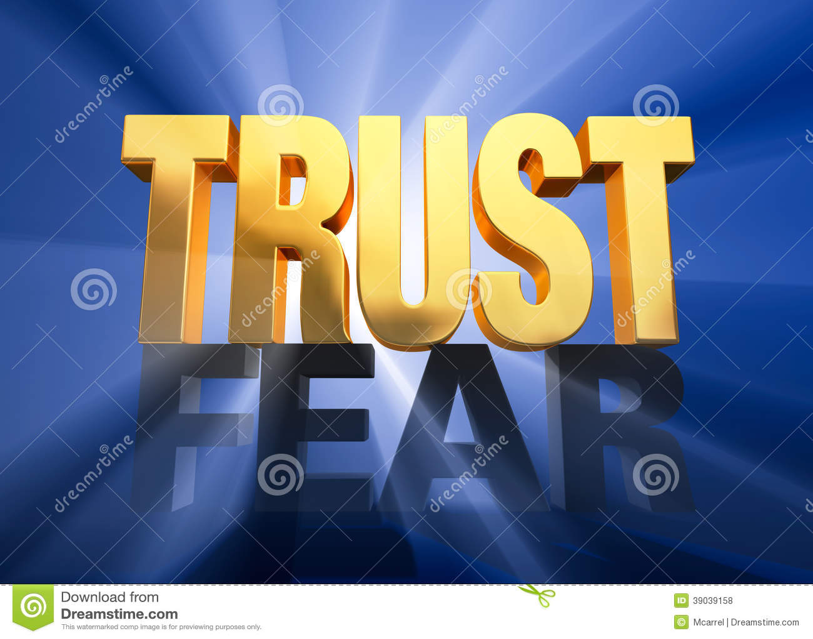 在恐惧的信任胜利