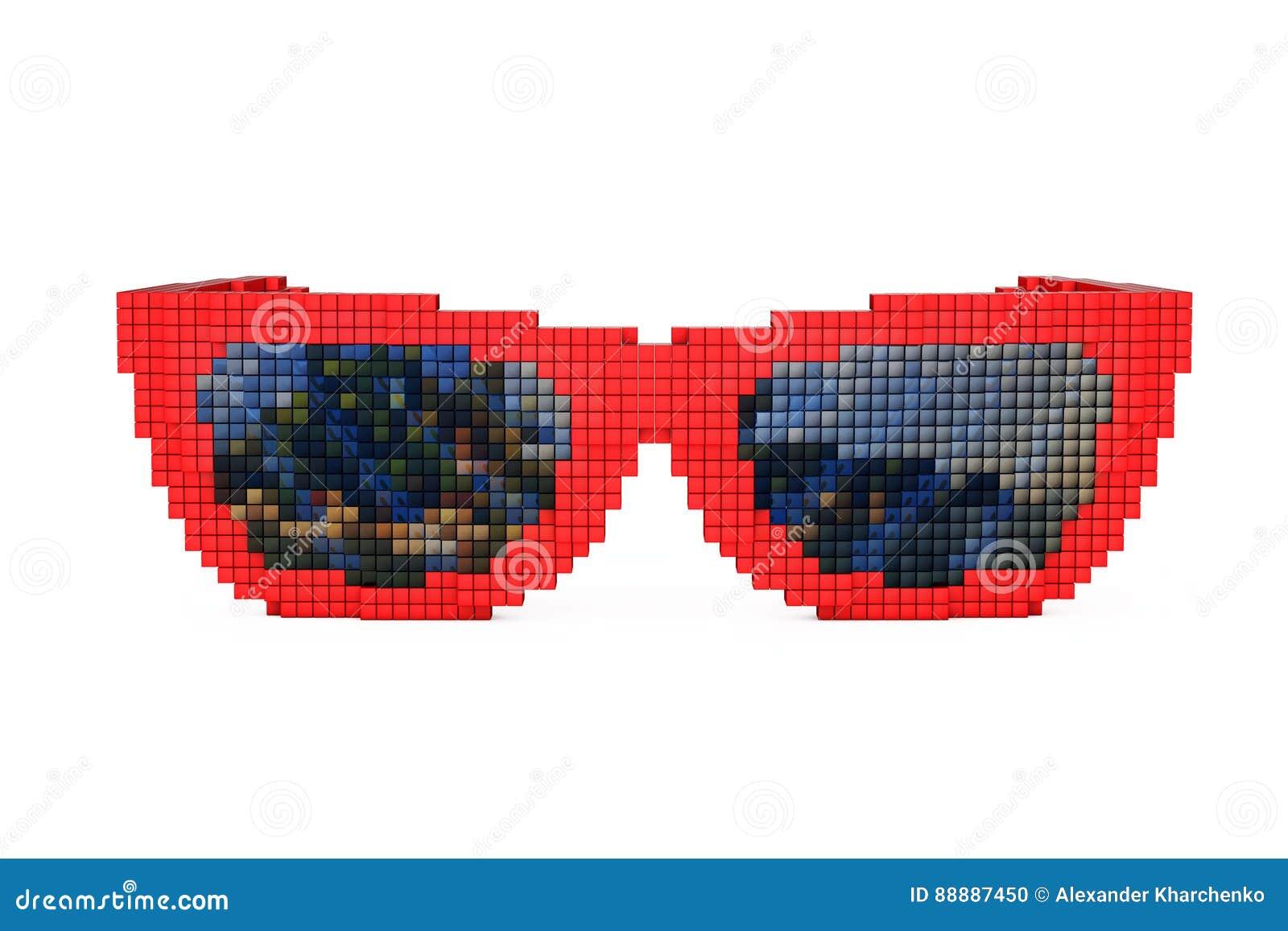 在映象点艺术样式的太阳镜 3d翻译